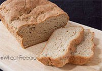 gluten free flax bread for school lunches