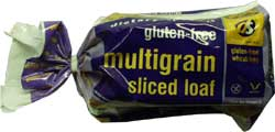 Wheat & gluten free multigrain sliced bread