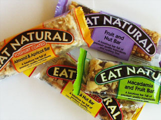 Wheat free and gluten free energy, snack bar