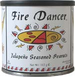 Wheat & gluten free Fire Dancer Jalapeño Seasoned Peanuts review