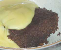 Wheat/gluten free Ginger Pudding recipe