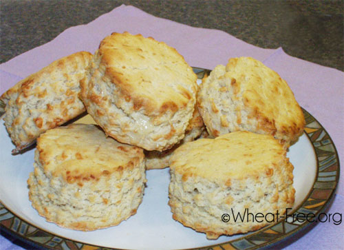 Wheat & gluten free Cheese Scones recipe