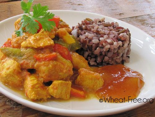 Wheat Gluten Free Chicken Tikka Masala Recipe
