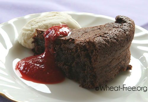 Gluten free Chocolate Torte Royale recipe