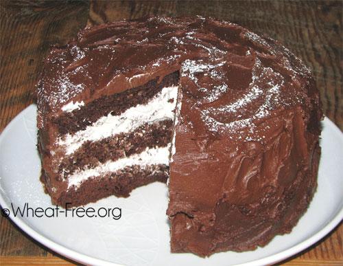 ... Chocolate Truffle Cake Wheat & gluten free chocolate truffle cake