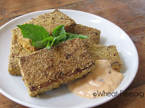 Wheat & gluten free Crunchy Chilli Tofu recipe