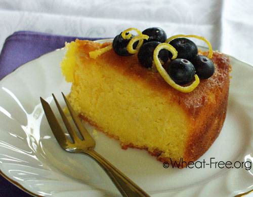 Wheat Gluten Free Lemon Ricotta Cake Recipe