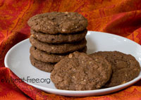 gluten free chocolate chip cookies for school lunches