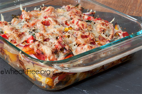 Wheat & gluten free Potato Layer Bake recipe