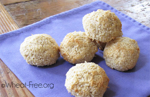 Wheat & gluten free Divine Macaroons recipe | Wheat-Free.org