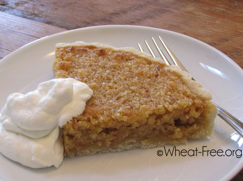 Wheat & gluten free Treacle Tart recipe