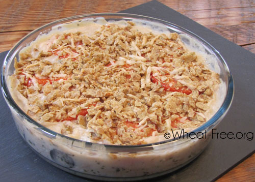 Wheat & gluten free Tuna Bean Bake recipe