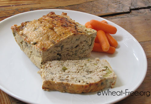 Wheat & gluten free Turkey Meatloaf recipe