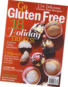 Go Gluten Free Holiday Cooking magazine