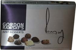 Wheat & gluten free Gordon Ramsay's Just Desserts Chocolates review