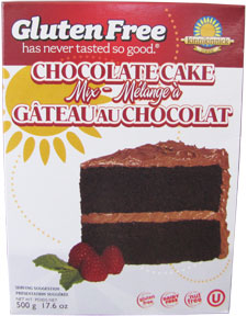 Kinnikinnick gluten free chocolate cake mix product review