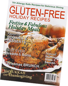 Living Withouts Gluten-Free Holiday Guide magazine