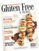 Living Without's Gluten Free & More magazine