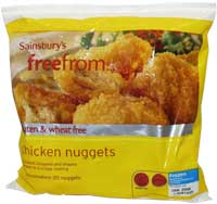 Wheat & gluten free chicken nuggets