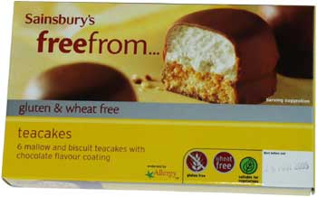 Wheat free and gluten free teacakes