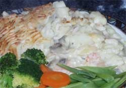 Wheat & gluten free Smoked fish pie recipe