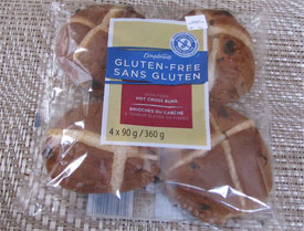 Sobeys Compliments gluten free hot cross buns product review