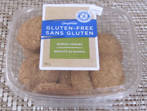 Sobeys Compliments gluten free quinoa cookies