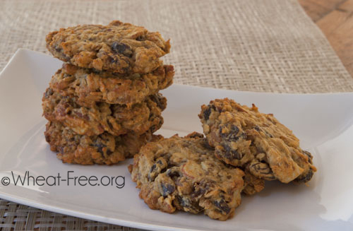 Wheat free Date Cookies recipe