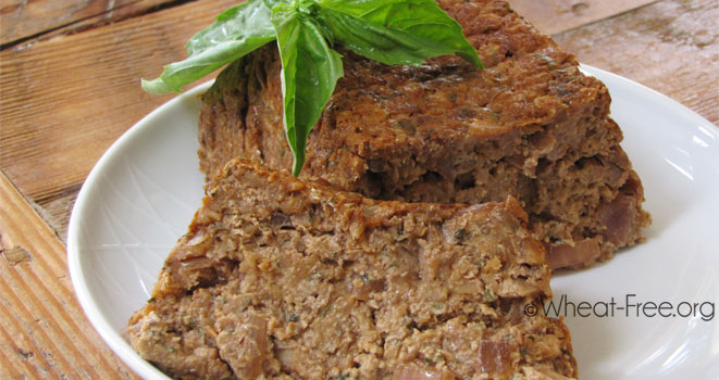 Meatless loaf (vegan)