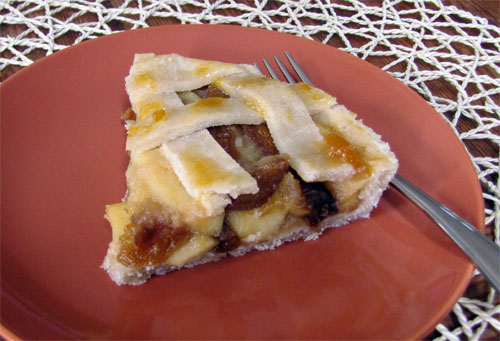 Gluten free Apple & Apricot Pie recipe