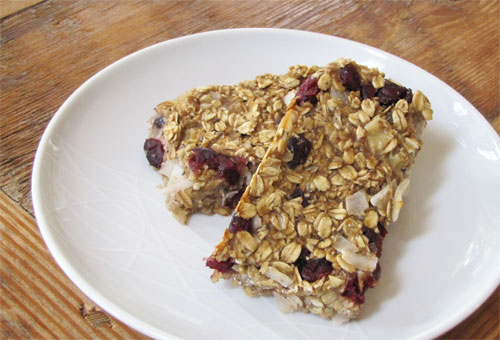 Wheat Amp Gluten Free Banana Oat Energy Bars Recipe