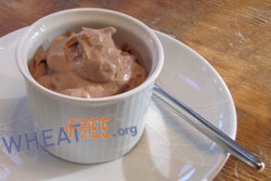 Gluten free Chocolate Tofu Mousse recipe