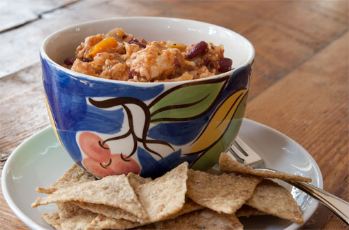 Wheat & gluten free Turkey Chilli recipe