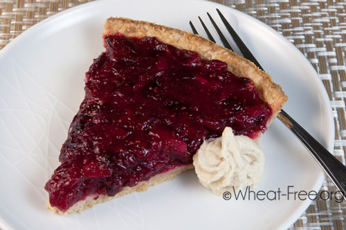 Wheat/gluten free Cranberry Pie recipe
