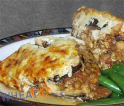 Wheat & gluten free Vegetarian Moussaka recipe