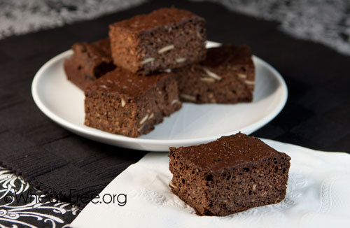Wheat & gluten free Chocolate Brownie recipe