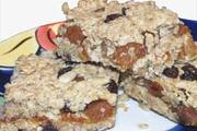 Wheat free Apricot Flapjack recipe