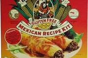Wheat free and gluten free Mexican recipe kit
