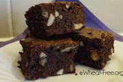 Wheat & gluten free Chocolate Fudge Brownies recipe