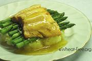 Wheat & gluten free Chunky Trout Fillets on Mash recipe