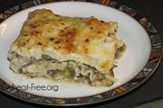 Wheat & gluten free Ground Turkey Lasagne recipe