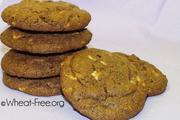 Wheat & gluten free White Chocolate Chip Cookies recipe
