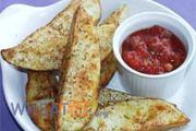 Wheat & gluten free Potato Wedges recipe