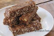 Wheat & gluten free Almond Butter Energy Bars recipe