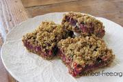 Wheat free Cranberry Oat Bars recipe