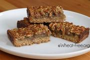 Wheat/gluten free Pecan Bars recipe