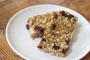 Wheat & gluten free banana oat energy bars recipe