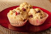 Wheat & gluten free Cranberry Muffins recipe