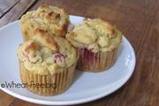 Wheat & gluten free Raspberry Muffins recipe